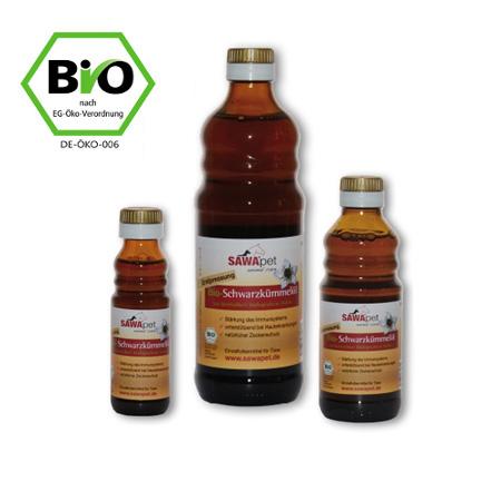 SAWApet Bio Schwarzkümmel-Öl