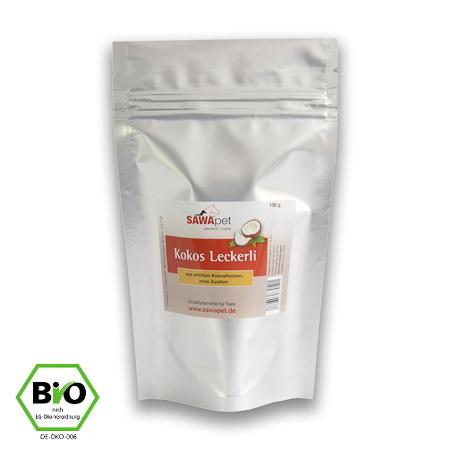 Gratisprodukt des Monats Bio Kokos Leckerli 100 g